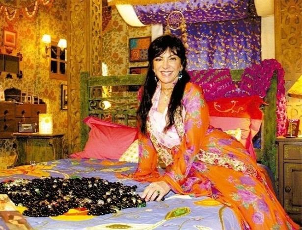 """2004 - Marília Pêra interpretou Janis na novela """"Começar De Novo"""""""