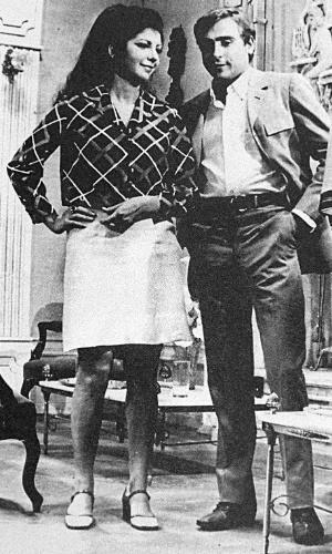 """1968 - Marília Pêra interpretou Manuela na novela """"Beto Rockfeller"""""""