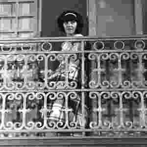 """1965 - Marília Pêra interpretou Rosinha na novela """"Rosinha do Sobrado"""" - TV Globo / CEDOC"""