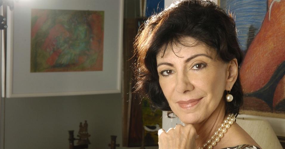 """2007 - Marília Pêra interpretou Gioconda na novela """"Duas Caras"""""""