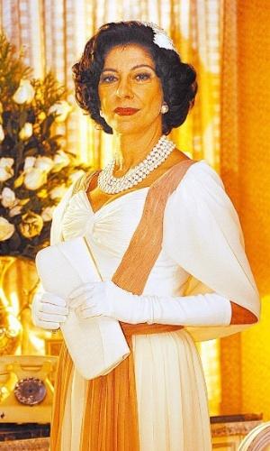 """2006 - Marília Pêra interpretou Sarah Lemos Kubitschek na minissérie """"JK"""""""