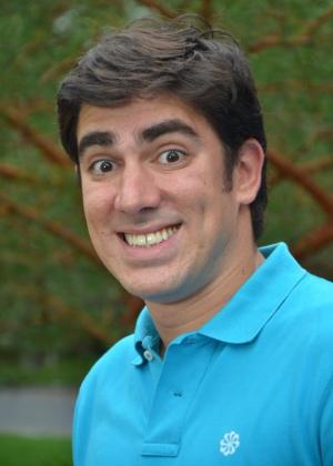 O humorista Marcelo Adnet, que deu sua primeira entrevista na Rede Globo para o Vídeo Show