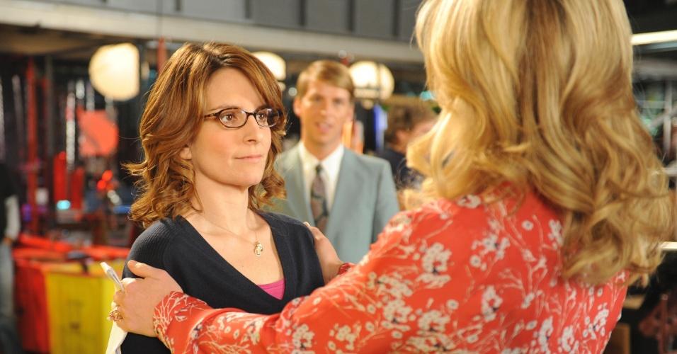 """Tina Fey em cena do episódio final de """"30 Rock"""""""