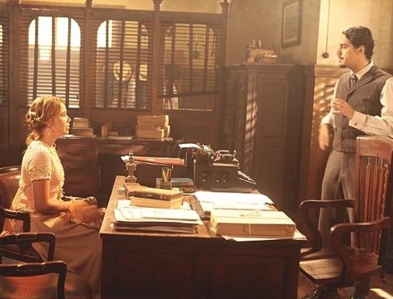 4.fev.2013 - Alice se arrepende de ter se aproximado de Gustavo e pede perdão a Jonas
