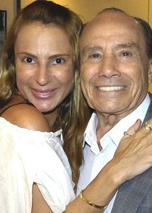 Stênio Garcia com a mulher, Marilene Saade - Divulgação/TV Globo