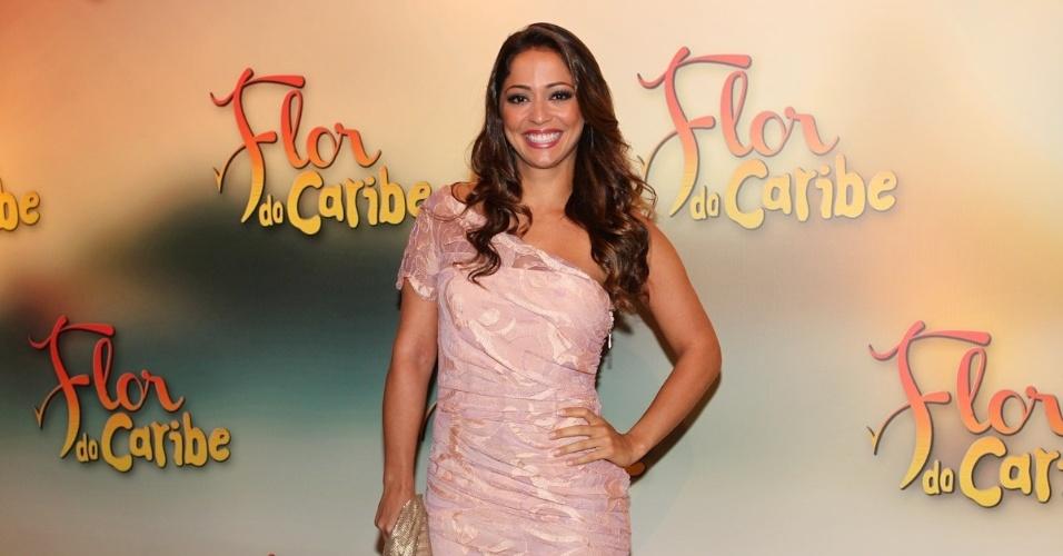 """23.fev.2013 - Atriz Gisele Alves também está no elenco da novela que substitui """"Lado a Lado"""" a partir de 11 de março na Globo"""