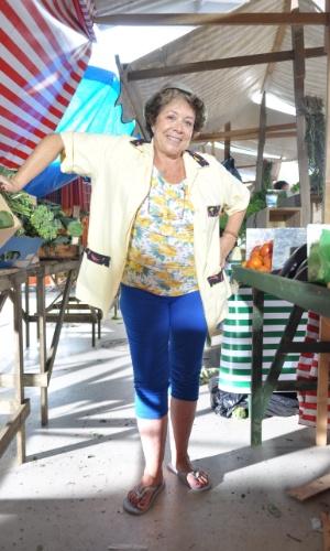 2013 - Ângela Leal interpreta Dona Xepa