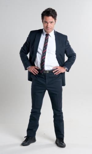 """2013 - Gabriel Gracindo interpreta François em """"Dona Xepa"""""""