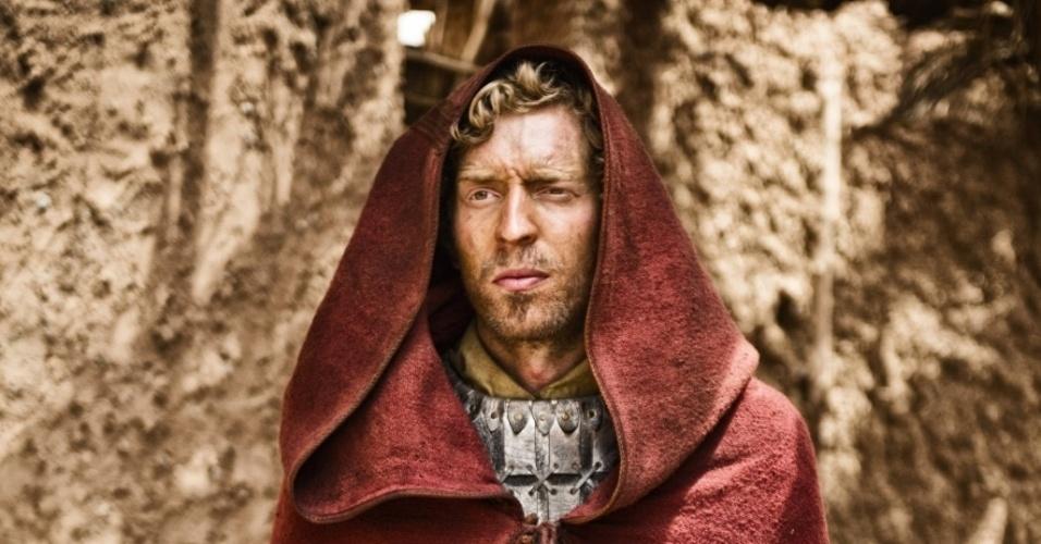 """5.mar.2013 - O anjo Gabriel em cena da série """"A Bíblia"""", exibida nos EUA pelo History Channel"""
