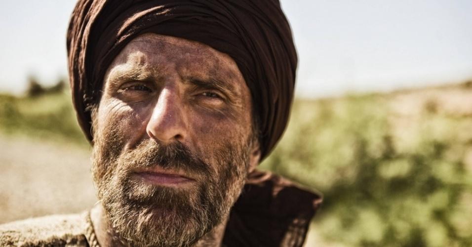 """5.mar.2013 - O apóstolo Paulo em cena da série """"A Bíblia"""", exibida nos EUA pelo History Channel"""