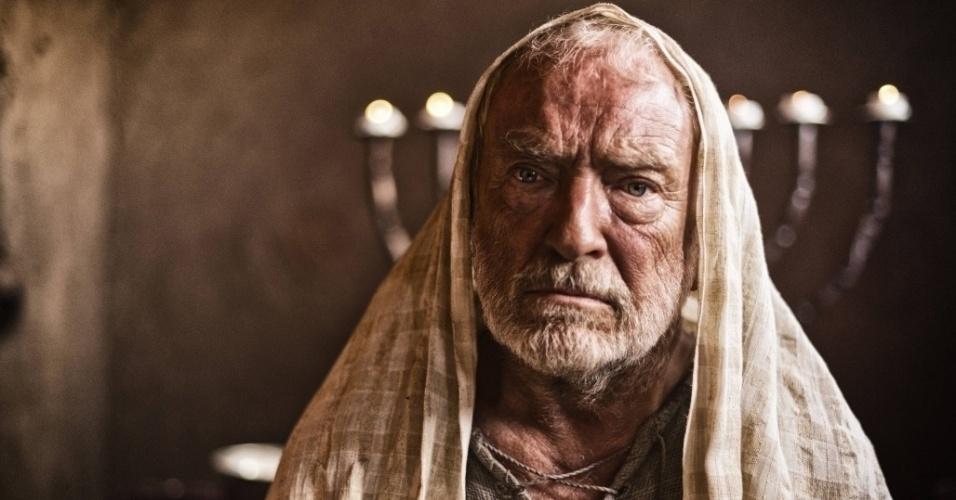 """5.mar.2013 - O profeta Samuel em cena da série """"A Bíblia"""", exibida nos EUA pelo History Channel"""
