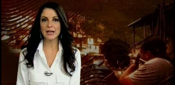 20.mar.2013 - Ana Paula Padrão se despediu do