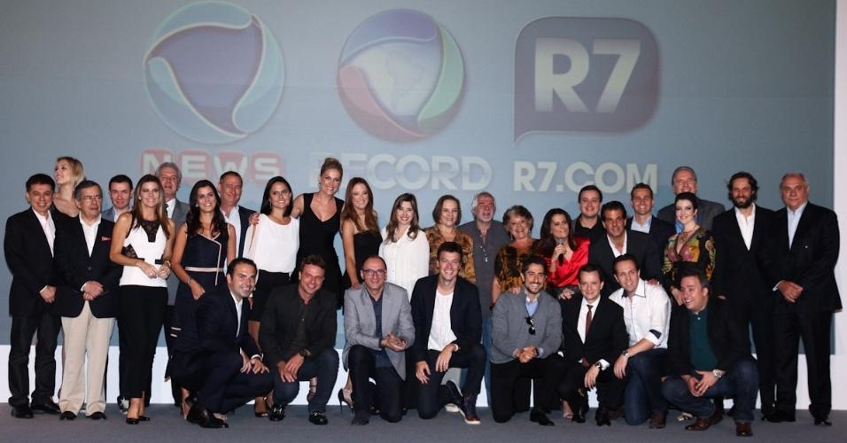 26.mar.2013 - Rede Record apresenta sua programação para 2013