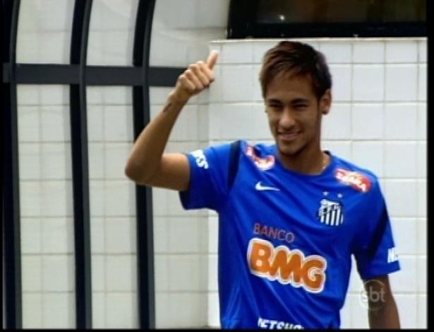 """Neymar faz participação em """"Carrossel"""""""