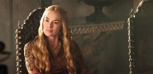 """Lena Headey é Cersei Lannister em """"Game of Thrones"""""""