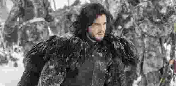 Kit Harington não tem mais essa barba - Divulgação/HBO