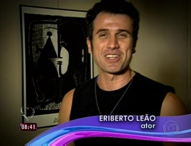 1.abr.2013 - O ator Eriberto Leão mandou mensagem de parabéns para Ana Maria Braga