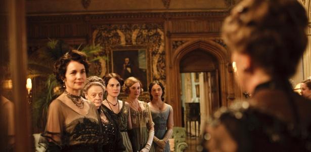 """Elenco do seriado """"Downton Abbey"""""""
