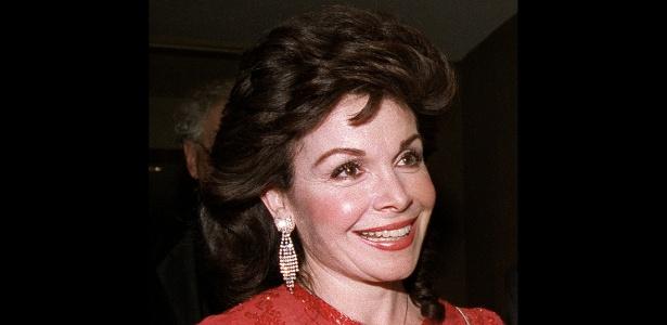 8.abr.2013 - A atriz Annette Funicello, que morreu aos 70 anos nos Estados Unidos