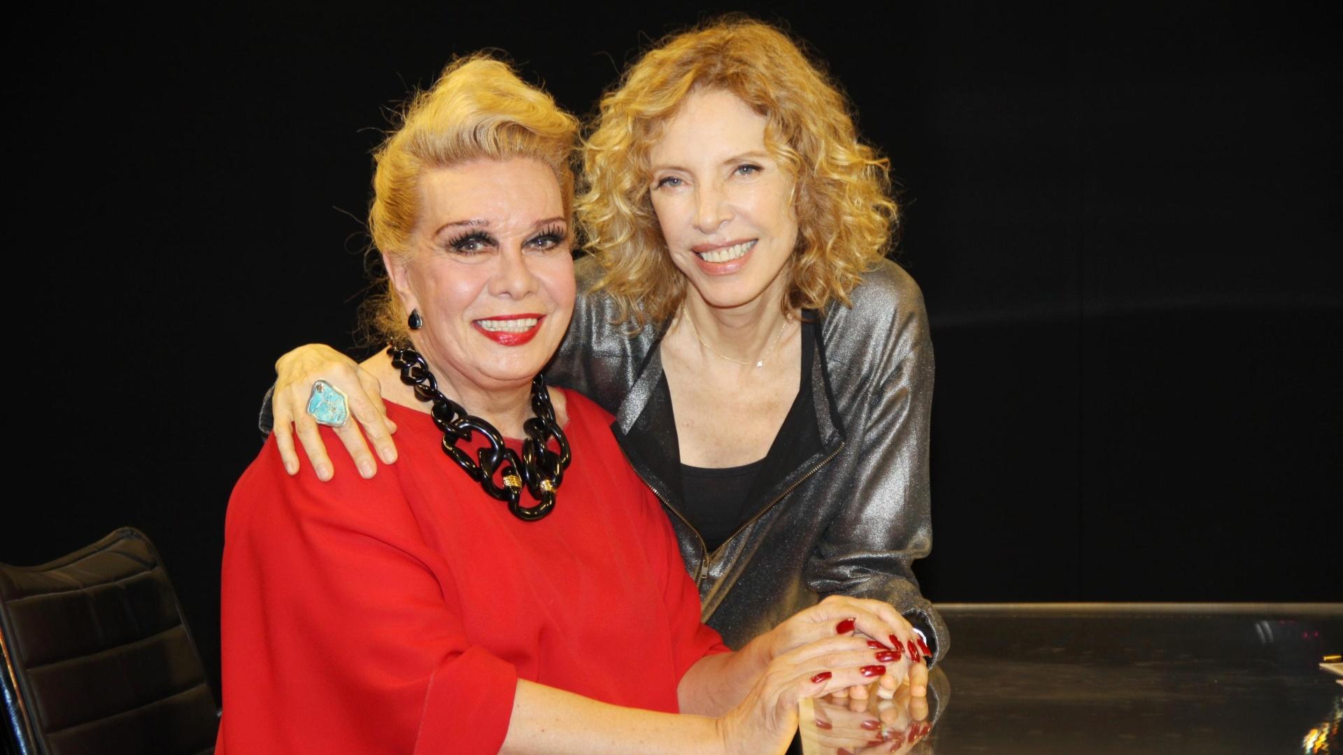 Rogéria é a convidada do ?De Frente com Gabi?, da Marília Gabriela, amanhã, no SBT.