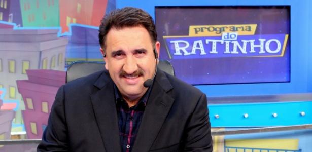 O apresentador Ratinho
