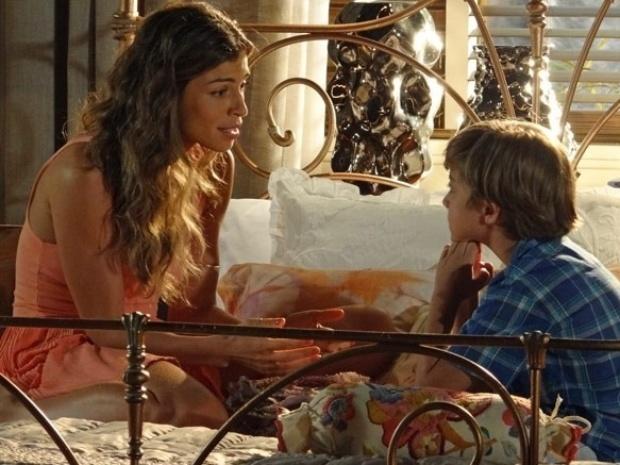 """Em """"Flor do Caribe"""", Samuca descobre que é filho de Cassiano"""