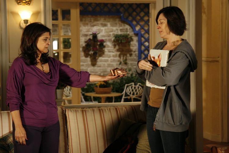 Cilene e Donatela recordam passado de Halley