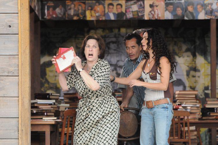 Iolanda tenta acabar com biblioteca de Copola