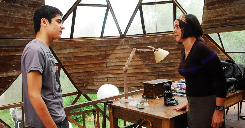 Augusto e Shiva rejeitam Rosana
