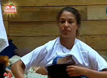 Lizzi Benites se prepara para atividade surpresa (16/12/10)