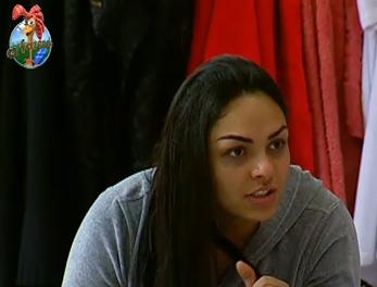 Mulher Melancia conversa com Carrasco sobre seus cabelos (29/9/2010)