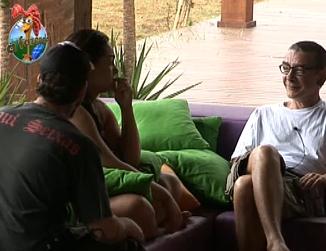 Carrasco conversa com Melancia e Tico (30/9/10)