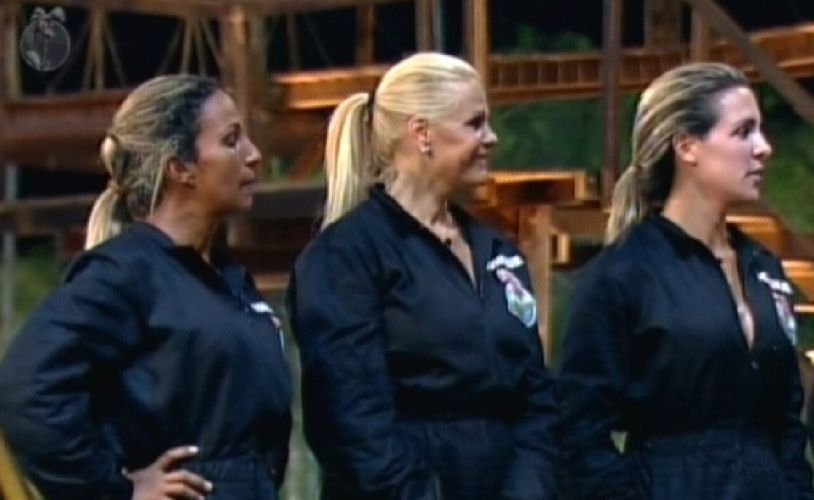 Valesca, Monique e Joana estão na roça (06/10/11)