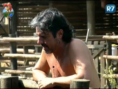 João Kléber desabafa com as ovelhas (25/7/2011)