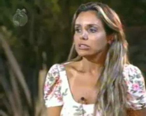 Renata Banhara votou em João Kléber e não poupou críticas ao colega (25/7/2011)