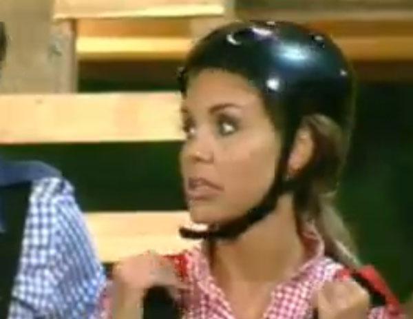 Renata Banhara antes do início da prova (26/07/11)