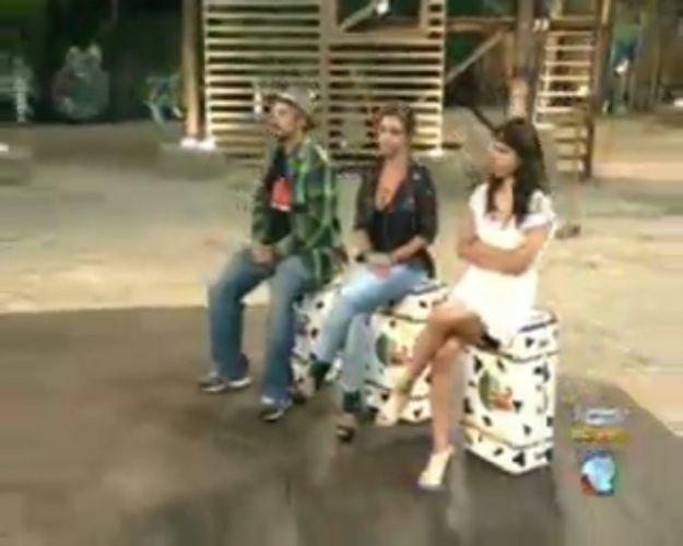 Os roceiros Gui, Renata e Taciane respondem perguntas enviadas pelos internautas (28/7/11)