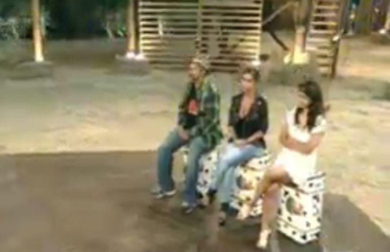Roceiros aguardam ansiosos para saber quem será o primeiro eliminado do programa (28/7/11)