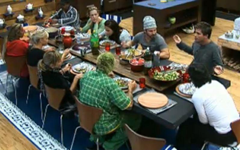 Peões têm almoço animado nessa quarta-feira (03/8/11)