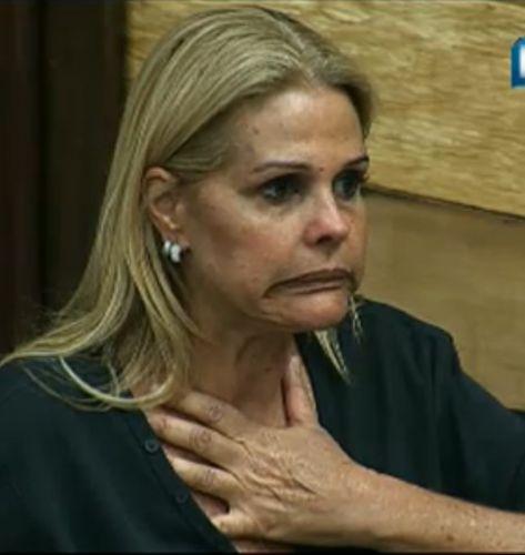 Monique Evans se resolveu com João Kléber (5/8/2011)