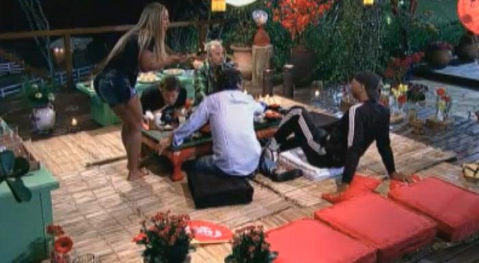 Valesca, Gui, João Kléber, Thiago e Dinei foram os felizardos (08/8/2011)