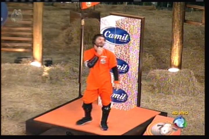 Cantor devolveu o gostinho da vitória para a equipe Ovelha (14/8/2011)