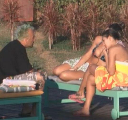 Gui ficou muito próximo de Dani Bolina e Joana Machado (14/8/11)