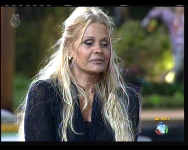 Pivô de polêmicas, Monique recebeu o voto de Valesca Popozuda (14/8/2011)