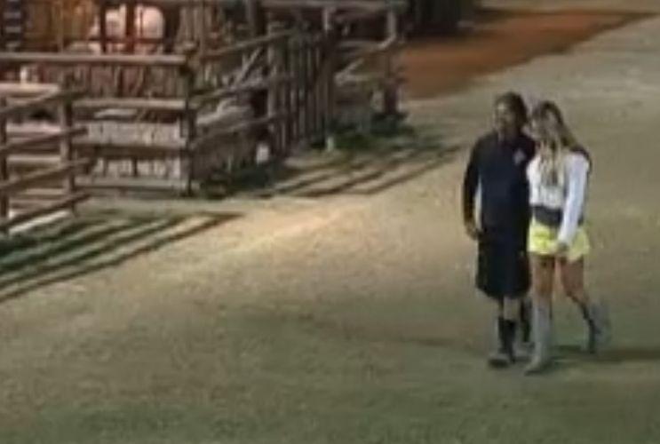 O apresentador já se declarou para Joana antes (18/8/2011)