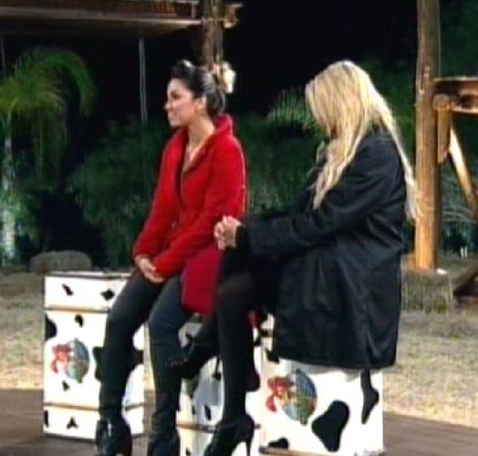 Sobraram Dani e Monique para Britto Jr. eliminar uma das duas (25/8/2011)