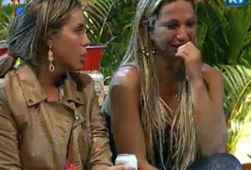 A peoa foi acusada por Dinei de só estar interessada em se exibir (22/07/11)