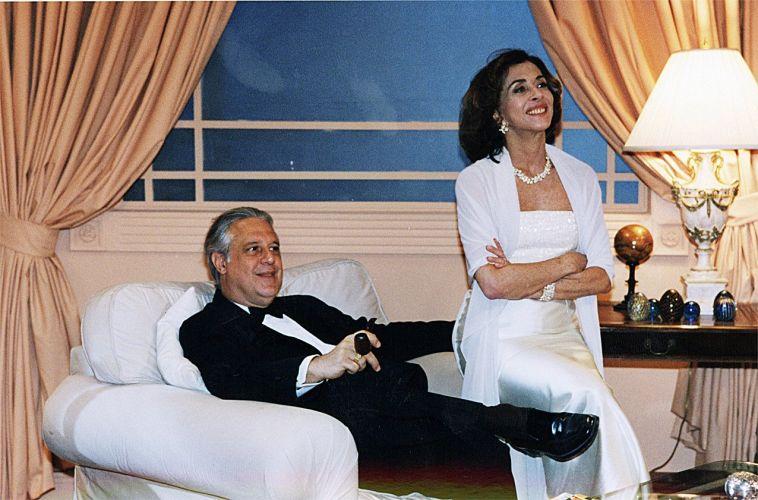 Antônio Fagundes e Betty Faria em cena de