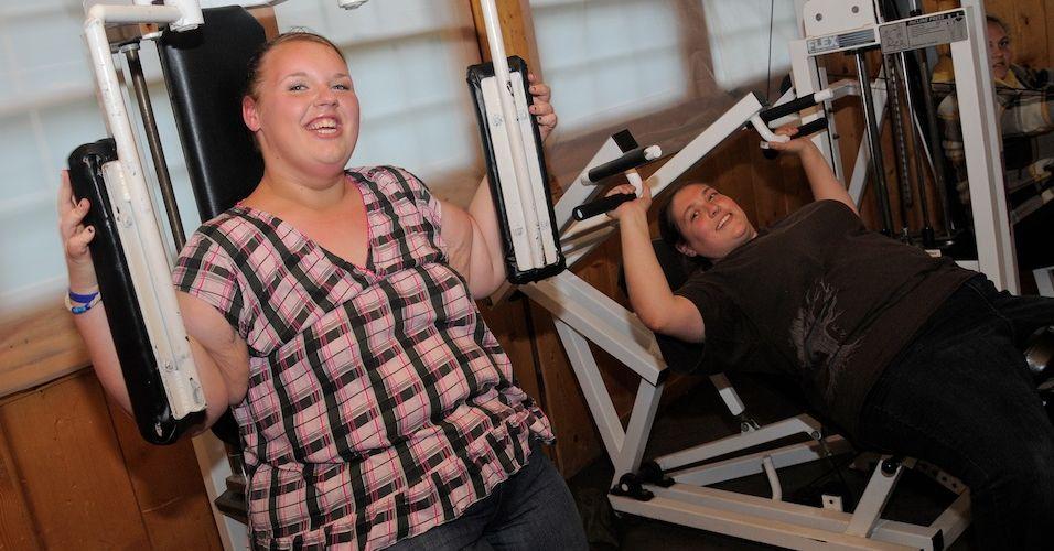 Como é correto para perder o peso em condições de casa durante um mês