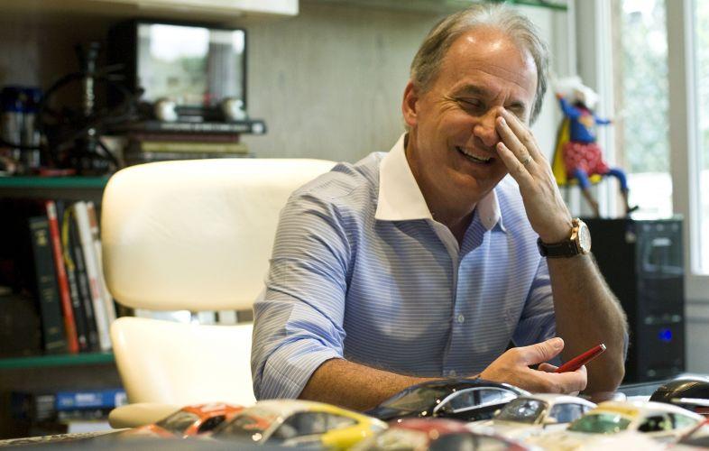 Há mais de 20 anos na TV, Otávio conta que quando criança tinha o sonho de ser piloto de Fórmula 1 ou trabalhar em televisão (12/5/2011)